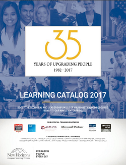 2017 New Horizons Learning Catalog